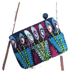 Handbags - Felt clutch
